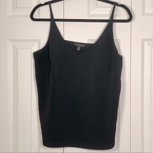 Flowy black camisole for casual or dressy outfits